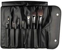 Da Vinci Brushes Cosmetics Series 48300 Professional Travel Brush Set With 10 Brushes, Napa Italian Leather Case(Pack of 10)