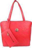 Pink Rose Shoulder Bag(Red)