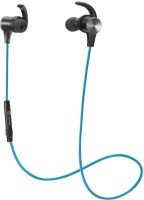 Tao Tronics BH07 BL Headset with Mic(Blue, In the Ear)