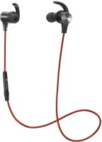Tao Tronics BH07 RD Headset with Mic(Red, In the Ear)