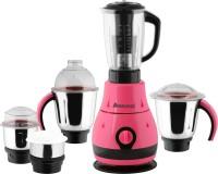 Anjalimix Designo 1000 W Juicer Mixer Grinder(Magenta, 5 Jars)