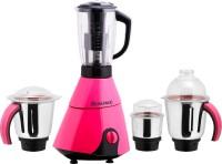Anjalimix Insta 1000 W Juicer Mixer Grinder(Magenta, 4 Jars)