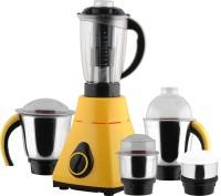 Anjalimix Amura 1000 W Juicer Mixer Grinder(Yellow, 5 Jars)