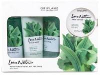 Oriflame Sweden Love Nature Facial Kit Tea Tree 425 ml(Set of 4)