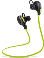 Tao Tronics BH06GR Headset with Mic(Green, In the Ear)