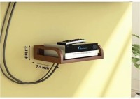 View The New Look Set Top Box Shelf MDF Wall Shelf(Number of Shelves - 1, Brown) Furniture