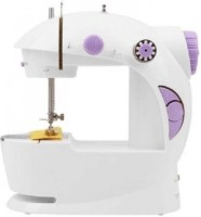 View CheckSums 11653 4 In 1 compact Mini Sewing Machine with foot pedal and adapter-Violet Electric Sewing Machine( Built-in Stitches 1) Home Appliances Price Online(CheckSums)