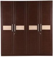 View HomeTown Magnum Engineered Wood 4 Door Wardrobe(Finish Color - Vermount) Furniture (HomeTown)