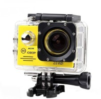 Mezire HD Adventure camera (13) 130 degree Wide angle lens Sports & Action Camera(Gold)