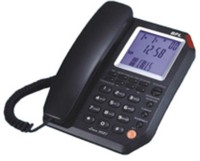 BPL Lona 3087 Corded Landline Phone(Black)