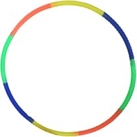 DCS Premium Quality Hula Hoop Exercise ring for Kids Hula Hoop