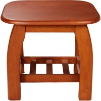Woodness Amelia Solid Wood Coffee Table(Finish Color - Dark Oak)