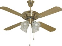 View Havells Standard Evoke With Light 4 Blade Ceiling Fan(Grey) Home Appliances Price Online(Havells Standard)
