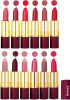 Rythmx Dry Matte Lipstick Combo Set Of 12 Pcs(48 g, Multicolor,) - Price 1010 78 % Off