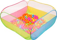 Playhood Ball Pool Play Tent House for Kids with 50 Colorful Ball(Multicolor)