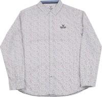 Allen Solly Junior Boys Printed Casual Spread Shirt