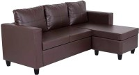 View Comfy Sofa Classy Fabric Sectional Brown Sofa Set(Configuration - Straight) Furniture (COMFY SOFA)