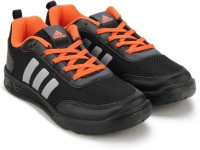 ADIDAS Boys & Girls Lace Running Shoes(Black)