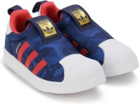 ADIDAS ORIGINALS Boys & Girls Lace Casual Boots(Blue)