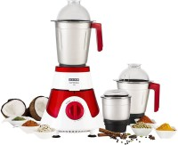Usha Imprezza MG 3576 750 W Mixer Grinder(Red, 3 Jars)