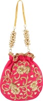 D'oro D'oro Hang-over - Party Favour Draw String (Pink) Potli(Pink)