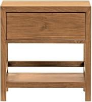 View WOOD CREATION Engineered Wood End Table(Finish Color - Teak) Furniture (WOOD CREATION)