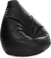 View Style Homez XXXL SAC Teardrop Bean Bag  With Bean Filling(Black) Furniture (Style Homez)