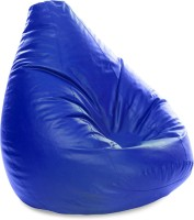 View Style Homez XXXL SAC Teardrop Bean Bag  With Bean Filling(Blue) Furniture (Style Homez)