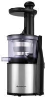 Wonderchef cold press slow juicer compact 200 W Juicer(black silver, 2 Jars)