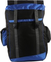 Bleu Waterproof Backpack(Blue, Black, 28 inch)