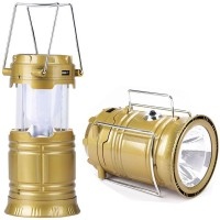 View ALPYOG Solar LED Light Emergency Lights(Gold) Home Appliances Price Online(ALPYOG)