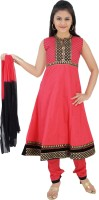 Saarah Self Design Kurta & Salwar(Stitched)