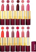 Rythmx Dry Matte Lipstick Combo Set Of 12 Pcs 112(48 g, Multicolor) - Price 1010 78 % Off