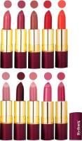 Rythmx Matte Lipstick Set Of 10 Pcs 93(40 g, Multicolor,) - Price 850 78 % Off