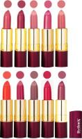 Rythmx Matte Lipstick Set Of 10 Pcs 98(40 g, Multicolor) - Price 850 78 % Off