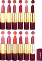 Rythmx Dry Matte Lipstick Combo Set Of 12 Pcs 111(48 g, Multicolor,) - Price 1010 78 % Off
