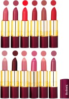 Rythmx Dry Matte Lipstick Combo Set Of 12 Pcs 109(48 g, Multicolor) - Price 1010 78 % Off