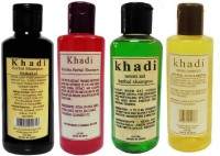 Khadi Herbal Shampoo Combo Pack(840 ml)