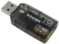 View Techon 3D Sound Card XSC001 Sound Card(Grey) Laptop Accessories Price Online(TECHON)