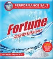 View Fortune Fortune Dishwasher Salt - 2 Kg - Compatible with all Dishwasher Brands Washing Machine Soap Dispenser Home Appliances Price Online(Fortune)