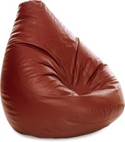 View Style Homez XXXL SAC Teardrop Bean Bag  With Bean Filling(Brown) Furniture (Style Homez)