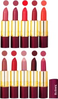 Rythmx Matte Lipstick Set Of 10 Pcs 90(40 g, Multicolor,) - Price 850 78 % Off