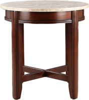 View HomeTown Solid Wood Bedside Table(Finish Color - Off White & Brown) Furniture (HomeTown)