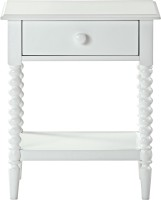 View WOOD CREATION Solid Wood End Table(Finish Color - White) Furniture (WOOD CREATION)
