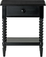 View WOOD CREATION Engineered Wood End Table(Finish Color - Black) Furniture (WOOD CREATION)