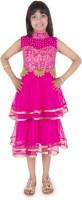 Addyvero 86 Party Dress(Pink, Sleeveless)