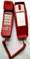 View Sonitel KS-69 Corded Landline Phone(Red, Off White) Home Appliances Price Online(Sonitel)