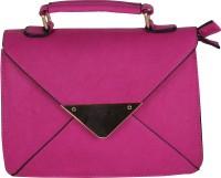 Pink Rose Women Pink PU Sling Bag