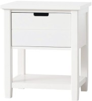 View Wood Creation Engineered Wood Bedside Table(Finish Color - White) Furniture (WOOD CREATION)