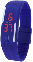 LEBENSZEIT LED RUBBER MAGNET BLUE Digital Watch Watch  - For Boys & Girls